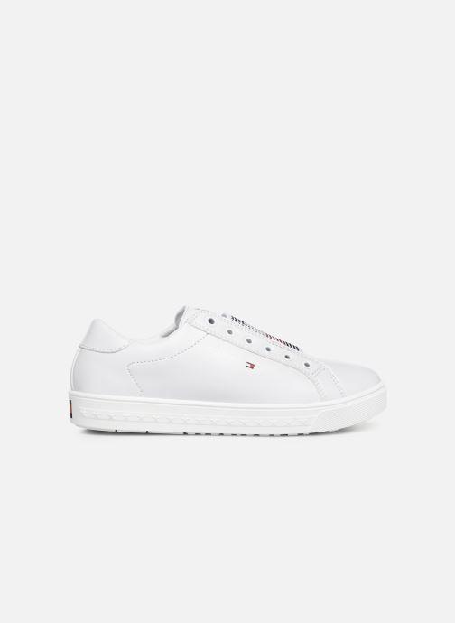 Baskets Tommy Hilfiger Slip-On Sneaker Blanc vue derrière