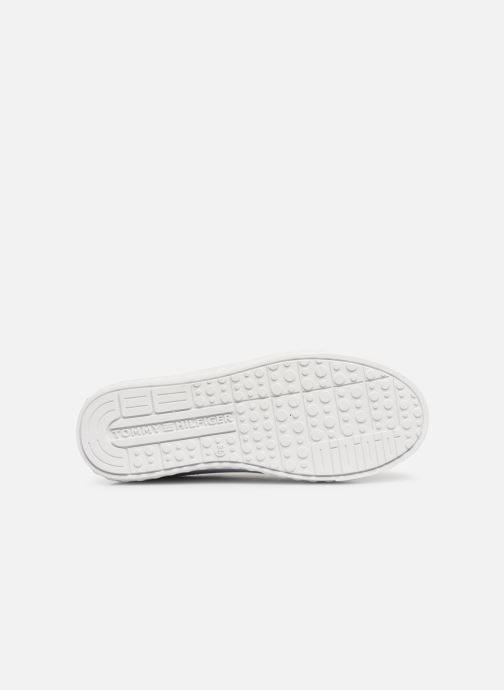 Baskets Tommy Hilfiger Slip-On Sneaker Blanc vue haut
