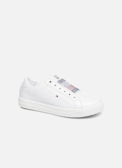 Deportivas Tommy Hilfiger Slip-On Sneaker Blanco vista de detalle / par