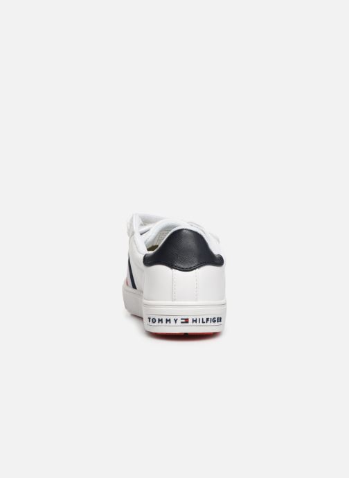 Sneakers Tommy Hilfiger Low Cut Velcro Sneaker Wit rechts