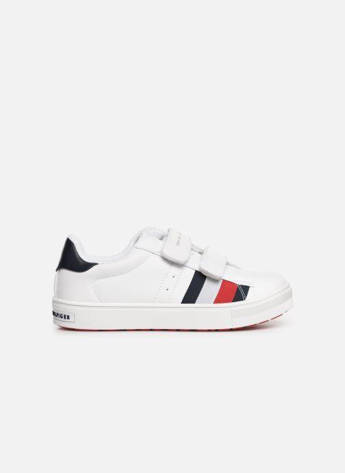 Baskets Tommy Hilfiger Low Cut Velcro Sneaker Blanc vue derrière