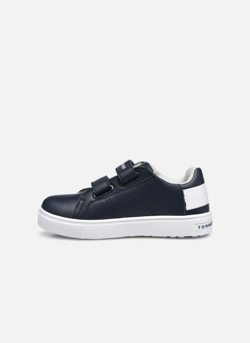 Baskets Tommy Hilfiger Low Cut Velcro Sneaker Bleu vue face