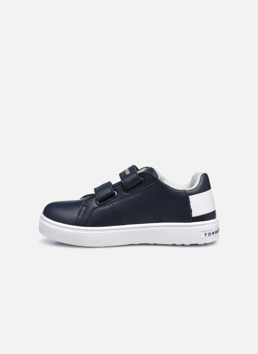 Sneakers Tommy Hilfiger Low Cut Velcro Sneaker Blauw voorkant