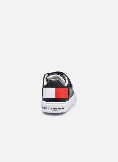 Deportivas Tommy Hilfiger Low Cut Velcro Sneaker Azul vista lateral derecha