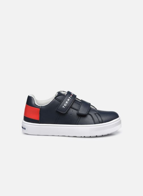 Baskets Tommy Hilfiger Low Cut Velcro Sneaker Bleu vue derrière