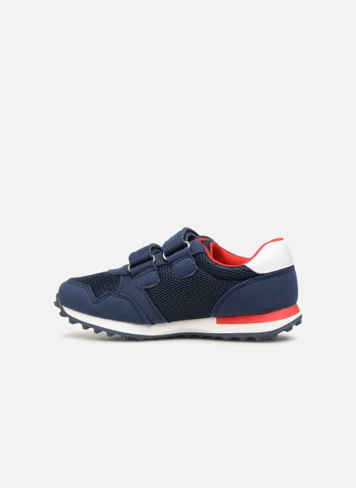 Deportivas Tommy Hilfiger Low Cut Velcro Sneaker 2 Azul vista de frente
