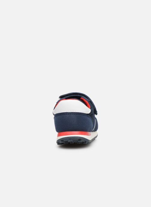 Baskets Tommy Hilfiger Low Cut Velcro Sneaker 2 Bleu vue droite
