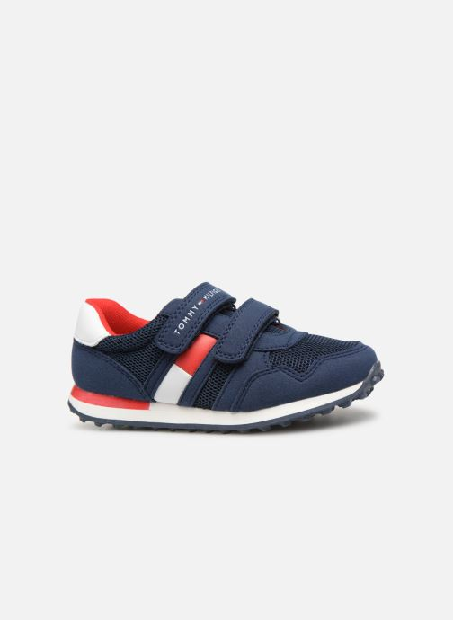 Deportivas Tommy Hilfiger Low Cut Velcro Sneaker 2 Azul vistra trasera