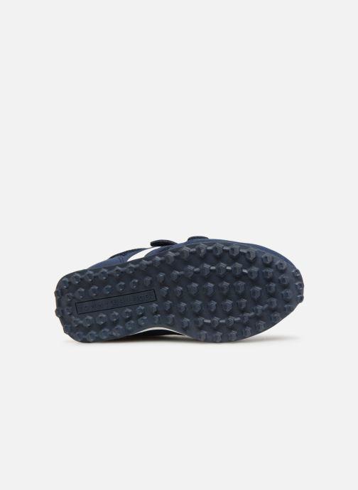 Baskets Tommy Hilfiger Low Cut Velcro Sneaker 2 Bleu vue haut