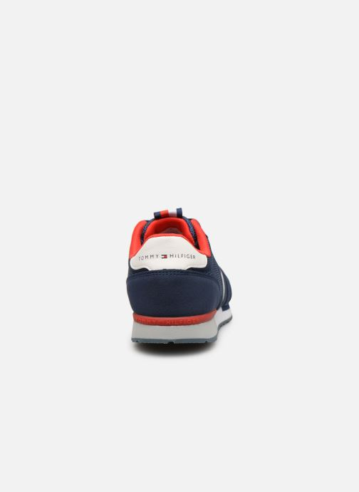 Deportivas Tommy Hilfiger Low Cut Lace-Up Sneaker Azul vista lateral derecha