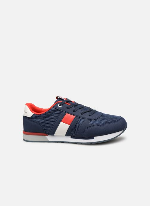 Sneakers Tommy Hilfiger Low Cut Lace-Up Sneaker Blauw achterkant