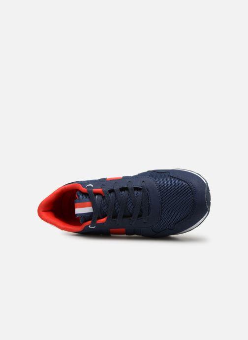 Baskets Tommy Hilfiger Low Cut Lace-Up Sneaker Bleu vue gauche