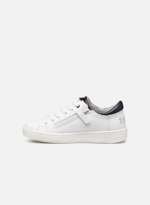 Sneaker Tommy Hilfiger Low Cut Lace-Up Sneaker weiß ansicht von vorne