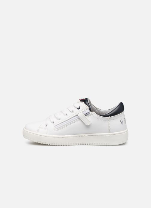 Baskets Tommy Hilfiger Low Cut Lace-Up Sneaker Blanc vue face