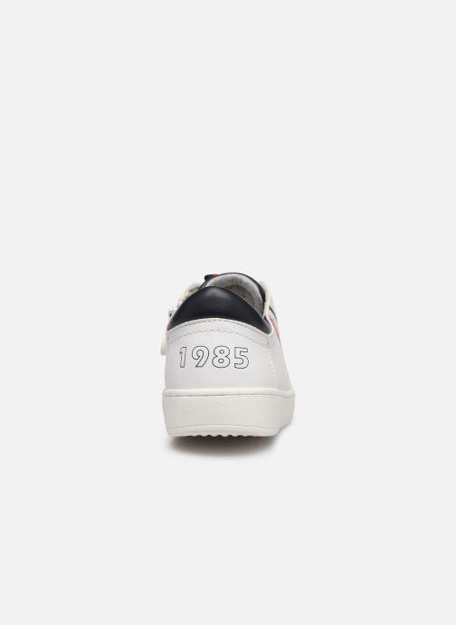 Baskets Tommy Hilfiger Low Cut Lace-Up Sneaker Blanc vue droite