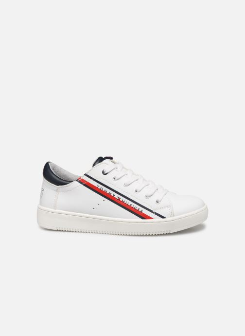 Sneaker Tommy Hilfiger Low Cut Lace-Up Sneaker weiß ansicht von hinten
