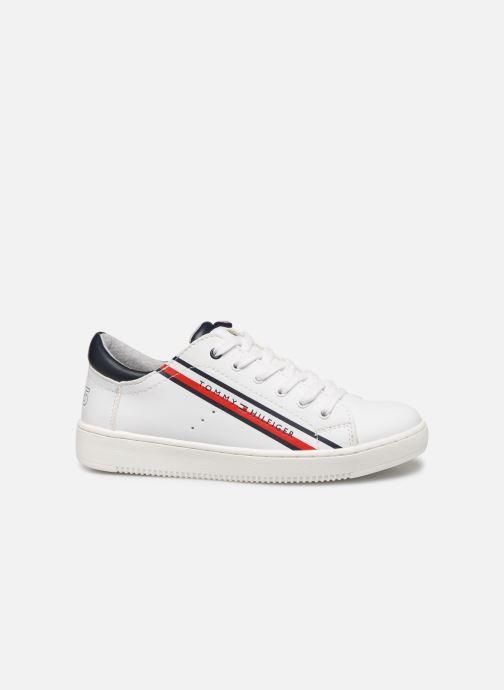 Baskets Tommy Hilfiger Low Cut Lace-Up Sneaker Blanc vue derrière