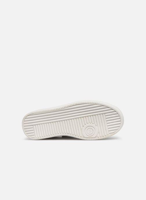 Baskets Tommy Hilfiger Low Cut Lace-Up Sneaker Blanc vue haut