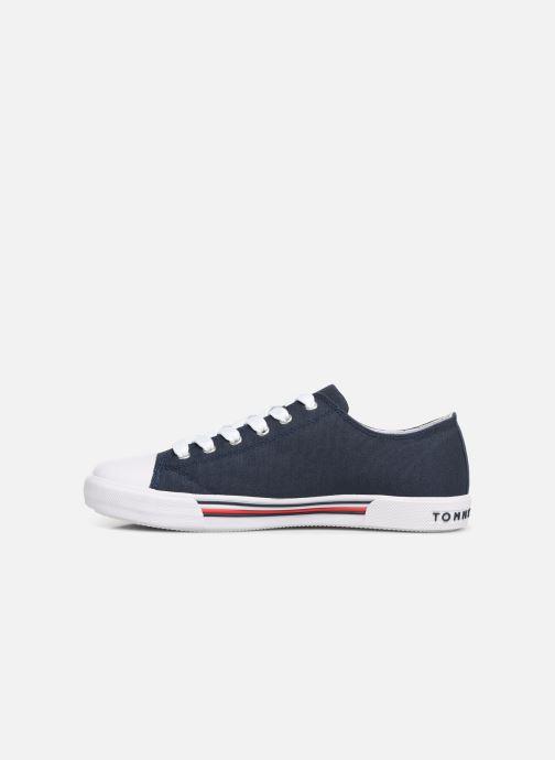 Baskets Tommy Hilfiger Low Cut Lace-Up Sneaker 2 Bleu vue face