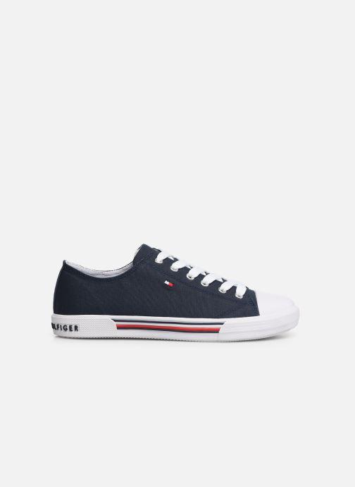 Baskets Tommy Hilfiger Low Cut Lace-Up Sneaker 2 Bleu vue derrière