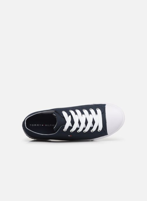 Sneakers Tommy Hilfiger Low Cut Lace-Up Sneaker 2 Azzurro immagine sinistra