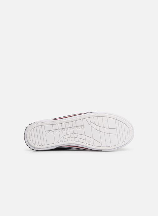 Baskets Tommy Hilfiger Low Cut Lace-Up Sneaker 2 Bleu vue haut
