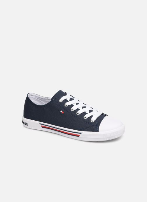 Sneaker Tommy Hilfiger Low Cut Lace-Up Sneaker 2 blau detaillierte ansicht/modell