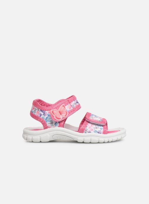 Sandales et nu-pieds Hello Kitty HK URBANIE C Rose vue derrière