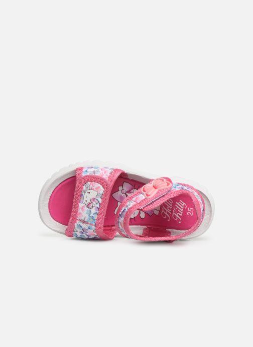Sandales et nu-pieds Hello Kitty HK URBANIE C Rose vue gauche