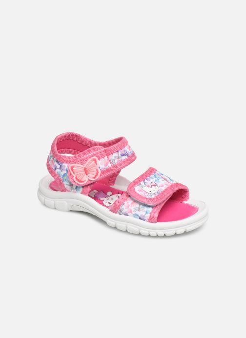 Sandals Hello Kitty HK URBANIE C Pink detailed view/ Pair view