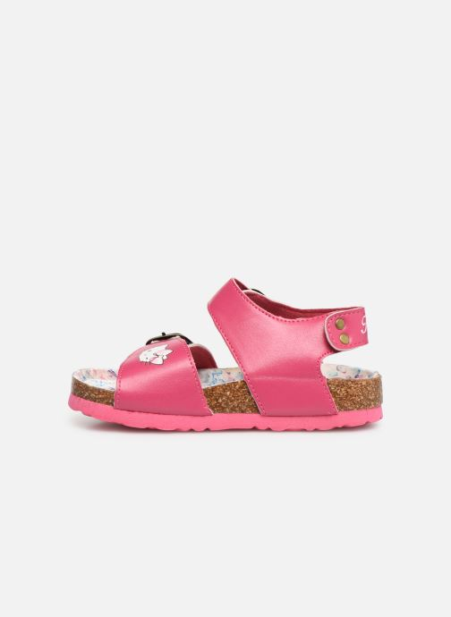 Sandales et nu-pieds Hello Kitty HK UGENIE C Rose vue face