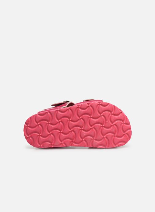Sandales et nu-pieds Hello Kitty HK UGENIE C Rose vue haut