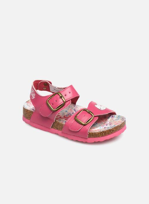 Sandales et nu-pieds Hello Kitty HK UGENIE C Rose vue détail/paire