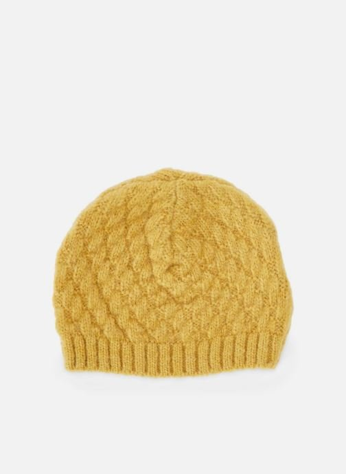 Beanie Bout'Chou BONNET TRICOT JAUNE Yellow detailed view/ Pair view