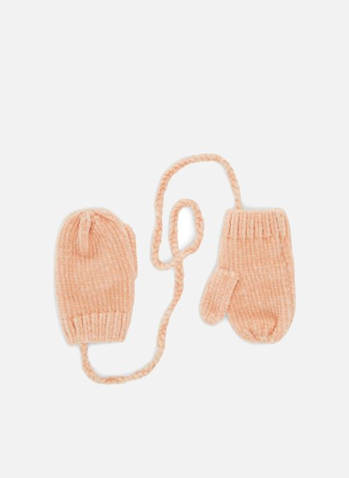 Handschuhe Bout'Chou MOUFLES CHENILLE rosa detaillierte ansicht/modell