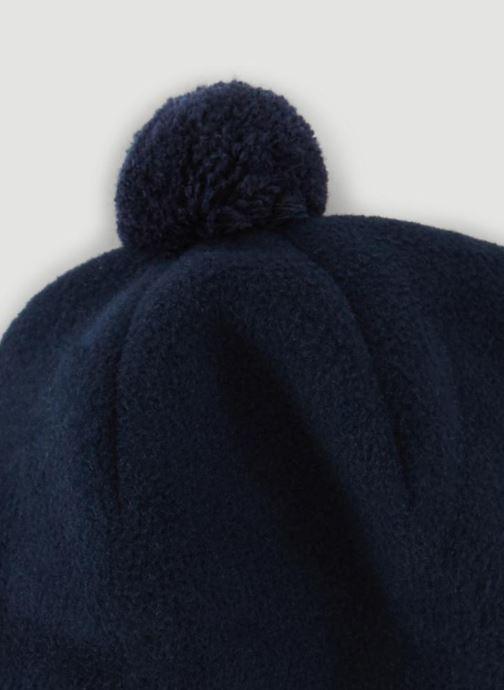 Bonnets Bout'Chou CHAPKA POLAIRE G Bleu vue portées chaussures