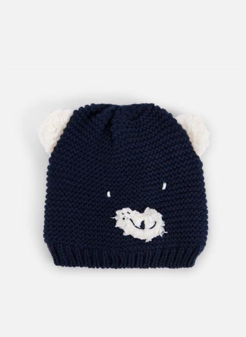 Bonnets Bout'Chou BONNET ANIMAL Bleu vue détail/paire