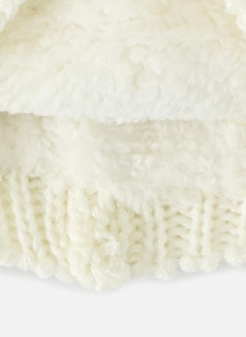 Bonnets Bout'Chou BONNET ANIMAL Blanc vue portées chaussures