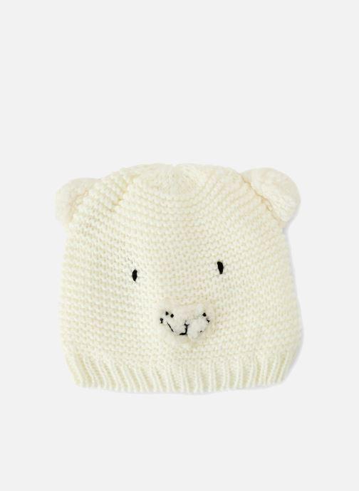 Bonnets Bout'Chou BONNET ANIMAL Blanc vue détail/paire