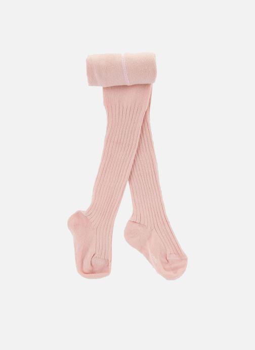 Chaussettes et collants Bout'Chou COLLANT COTON COTE Rose vue détail/paire