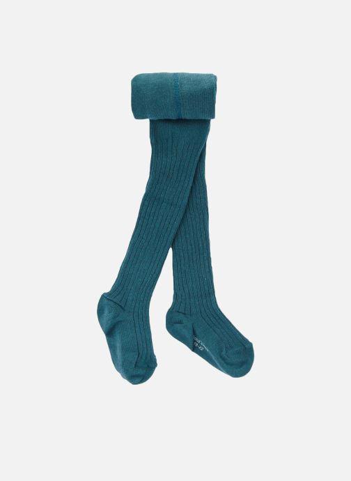 Chaussettes et collants Bout'Chou COLLANT COTON COTE Bleu vue détail/paire
