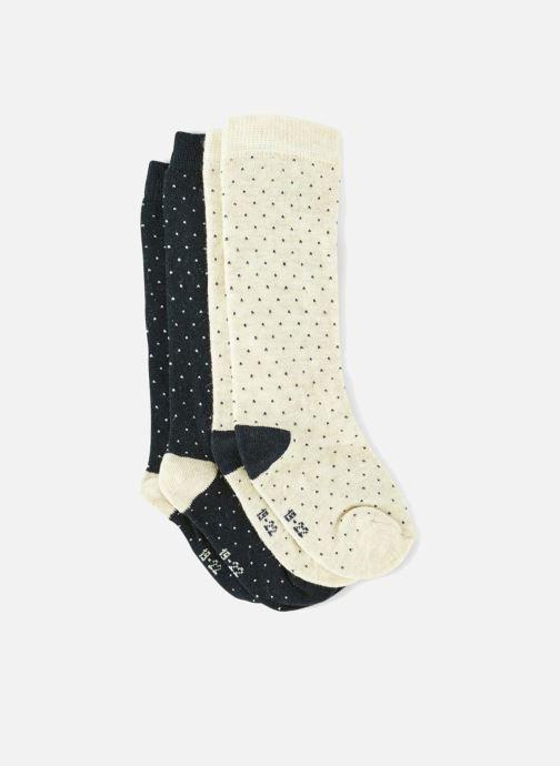 Sokken en panty's Bout'Chou 2 MI BAS CHAUD POIS Blauw detail