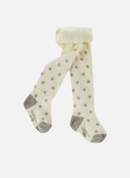 Strømper og tights Bout'Chou COLLANT ETOILES LUREX Hvid detaljeret billede af skoene
