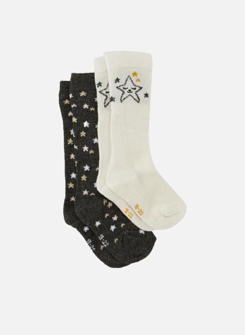 Sokken en panty's Bout'Chou 2 MI BAS ETOILE Wit detail
