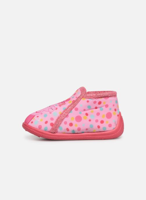 Chaussons Peppa Pig PASTILLE Rose vue face