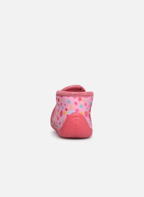 Hausschuhe Peppa Pig PASTILLE rosa ansicht von rechts