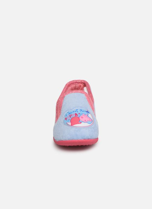 Chaussons Peppa Pig PATSY Bleu vue portées chaussures