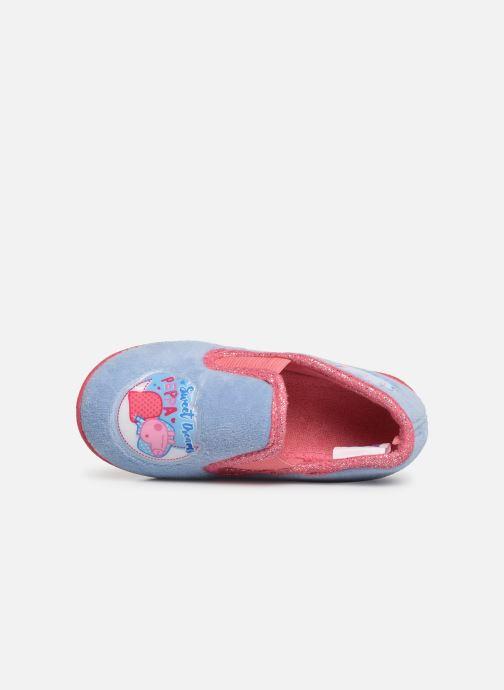 Pantoffels Peppa Pig PATSY Blauw links