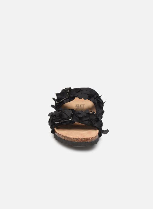 Mules et sabots Colors of California Flora Noir vue portées chaussures