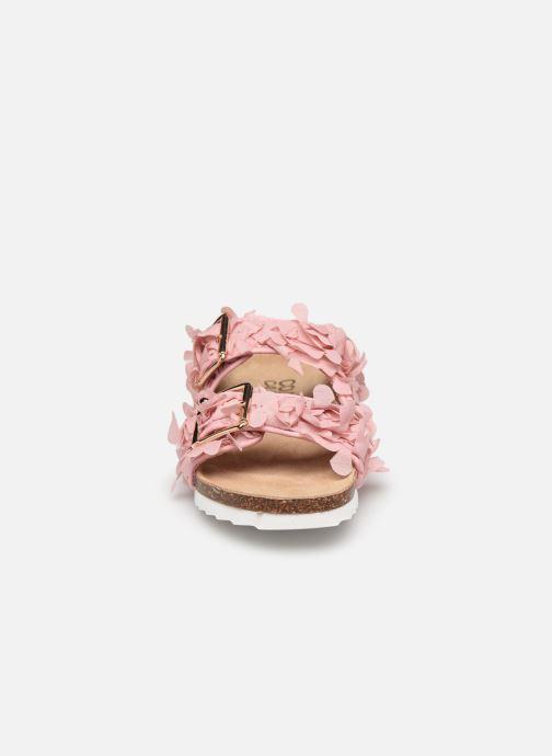 Mules et sabots Colors of California Flora Rose vue portées chaussures